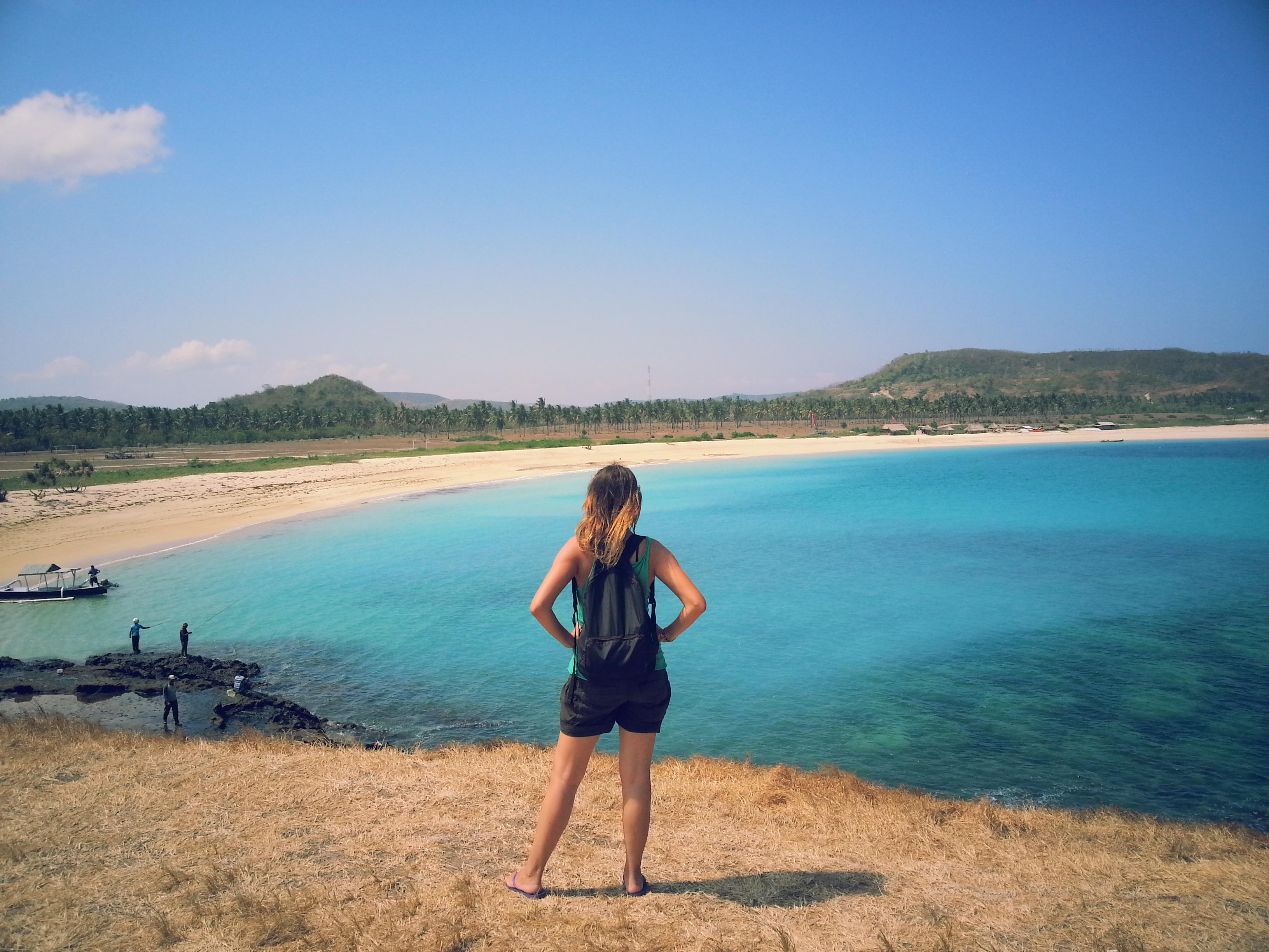 Playa Tanjung Aan. Lombok. Indonesia