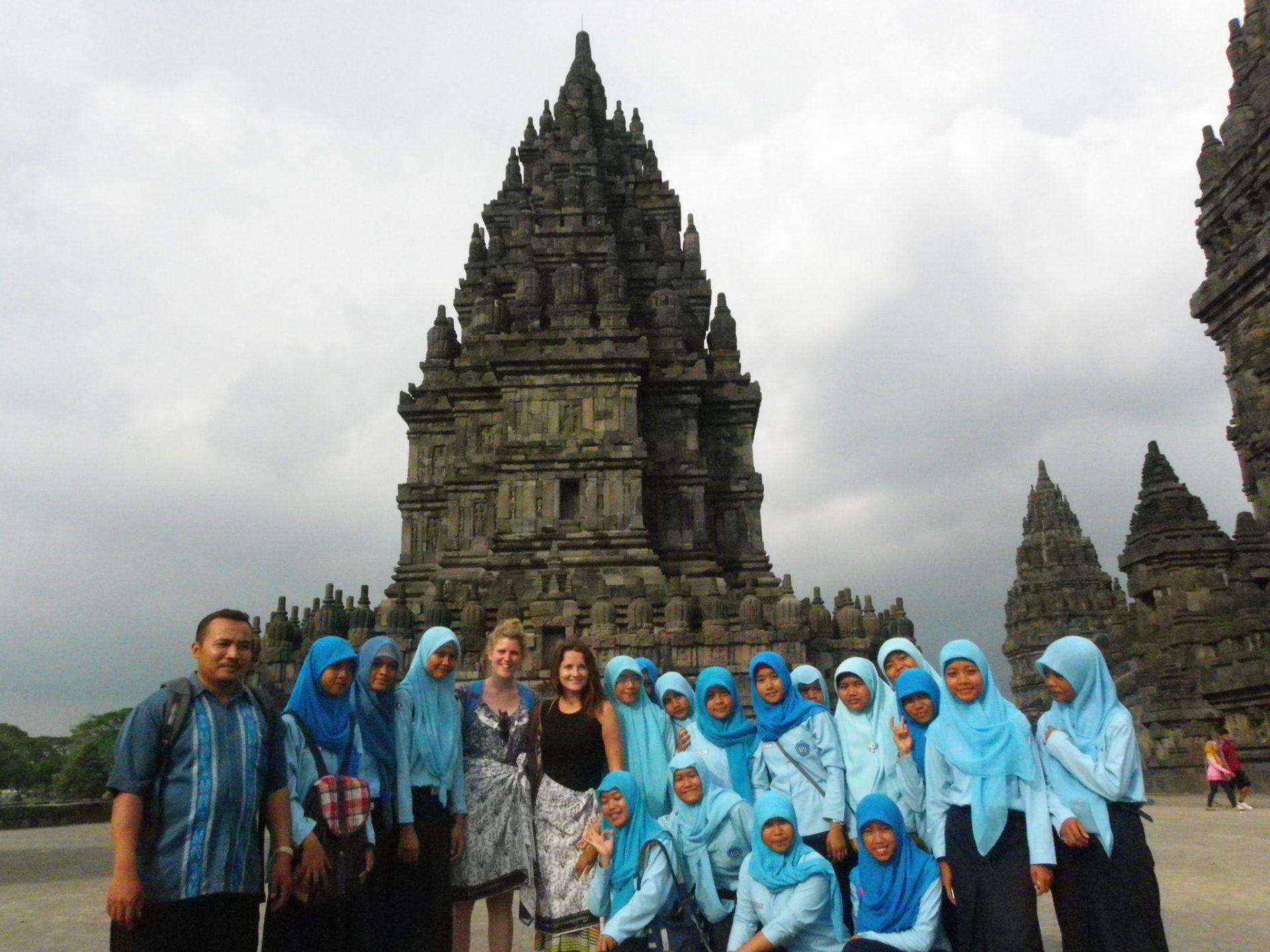 Templo Prambanan. Indonesia