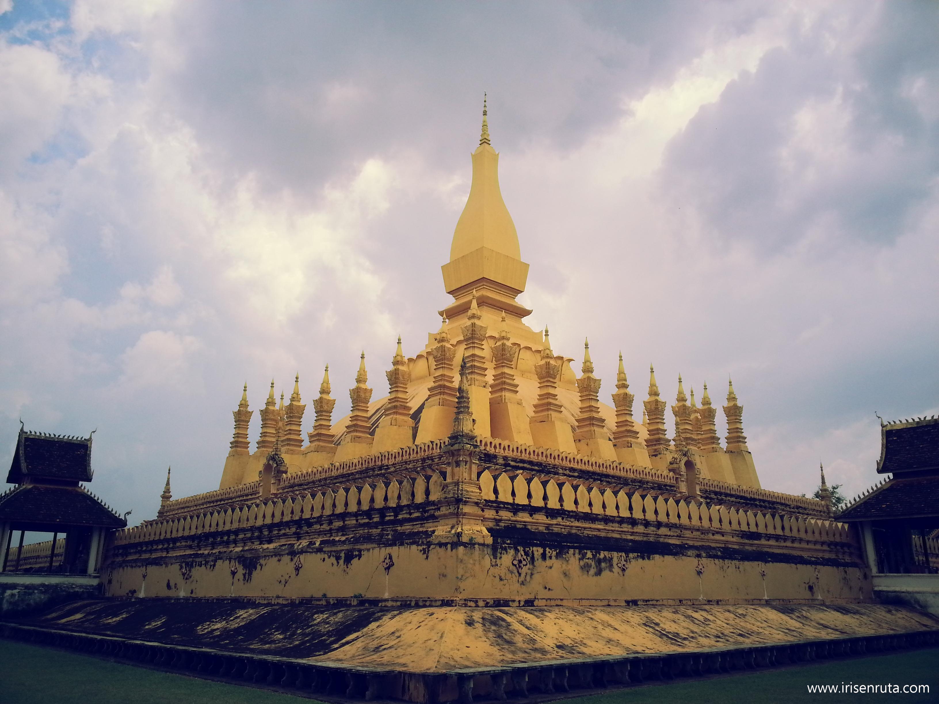 Pha That Luang. Vientiane